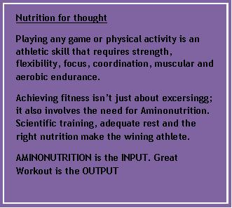 Nutrition for Thought